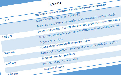 Webinar Understanding Food Safety: Concepts and Challenges in a Changing World