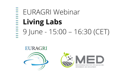 """EURAGRI Webinar """"Living labs, co-innovation and co-creation as building blocks for soil health and food"""""""