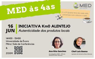 CHEF Luís Baena participa em conversas de ciência com café promovidas pelo MED