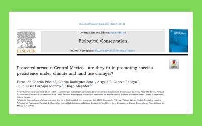 Investigador do MED lidera estudo internacional sobre desempenho de áreas protegidas para a proteção de vertebrados, sobre diferentes cenários de mudança climática