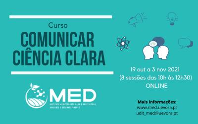 Cursos MED | Comunicar Ciência Clara – 2ª Edição